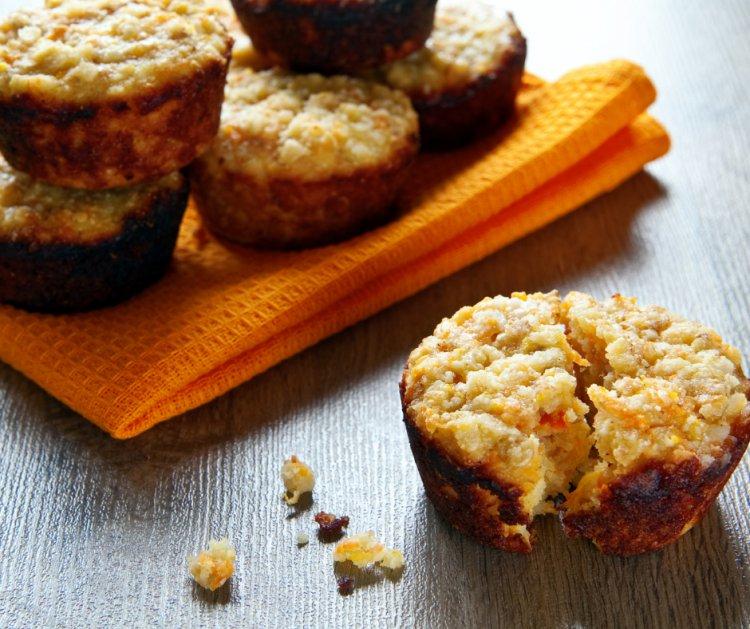 עוגת חלבון בטעם וניל עוגיות